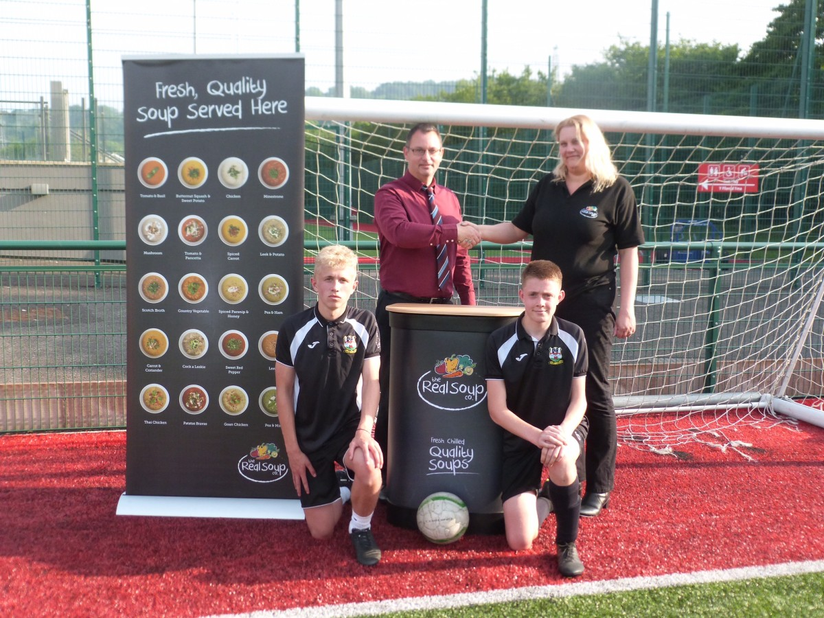 The Real Soup Co are delighted to announce that they are sponsoring the Risca United FC Academy Summer 6-A-Side Festival