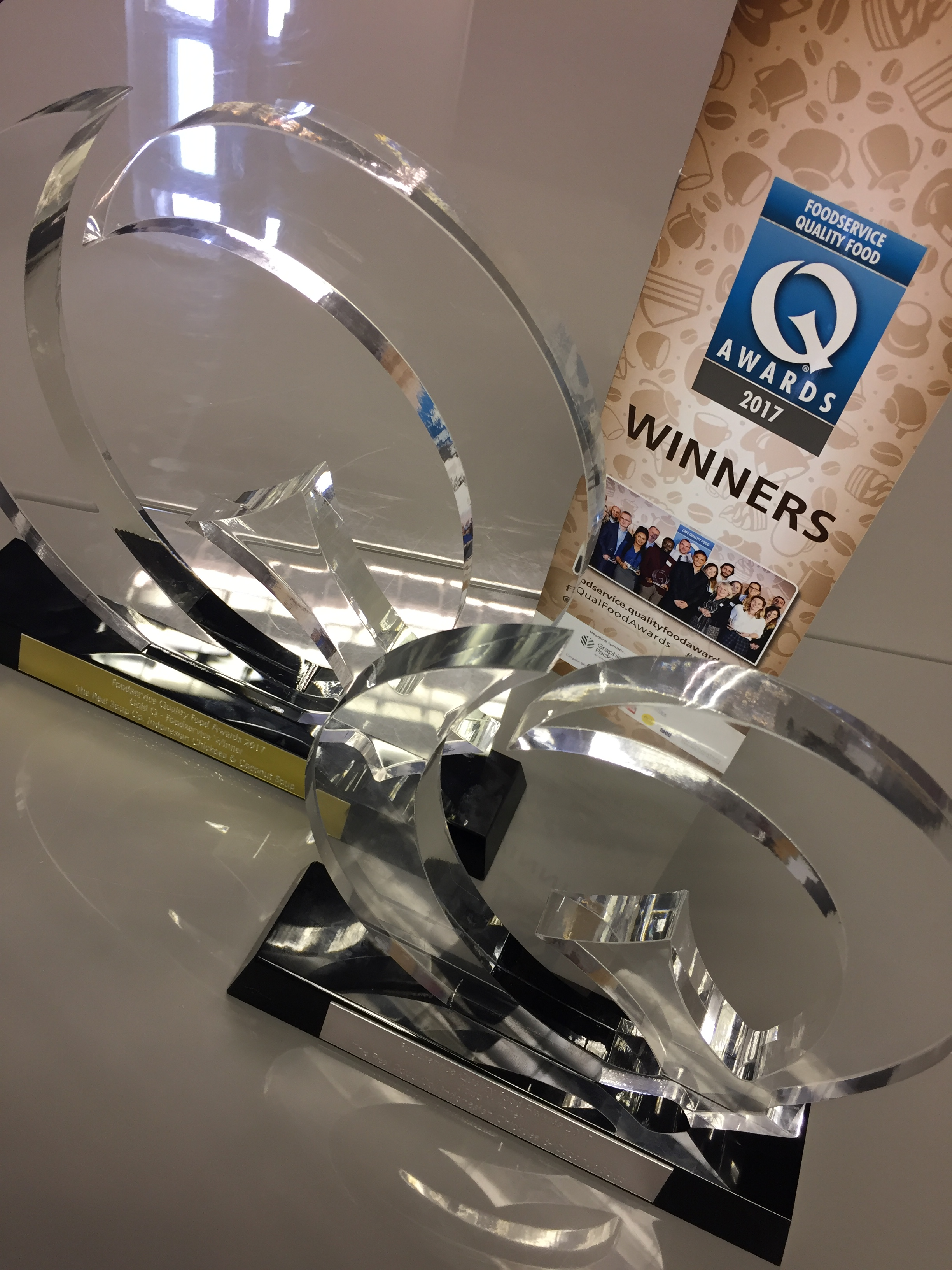 Real Soup Co. Do The Double at Q Awards